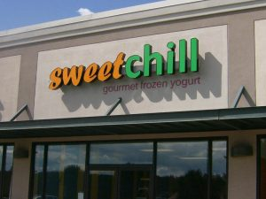 Sweet Chill Sign