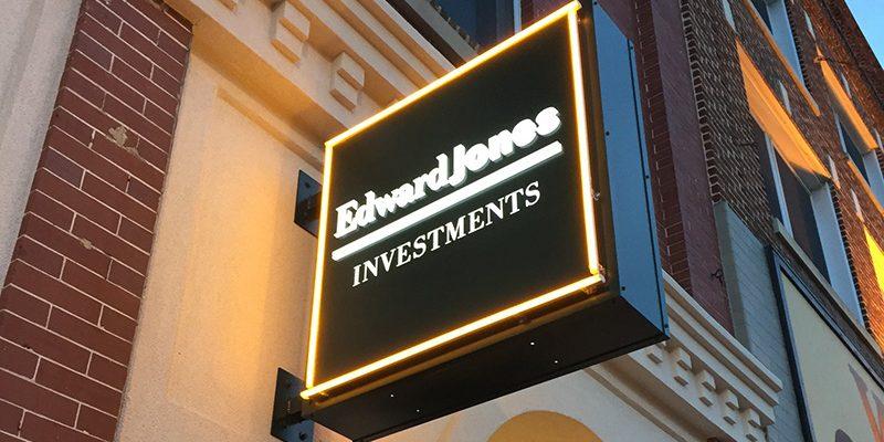 Edward Jones Sign