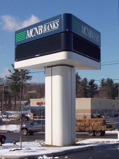 MCNB Banks Sign