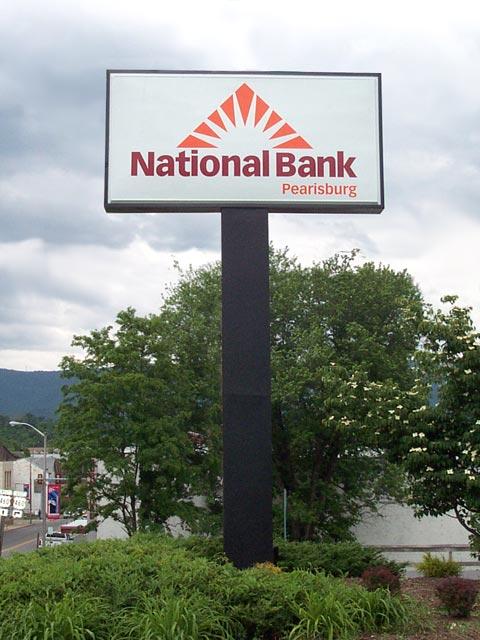 National Bank Sign