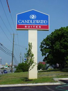 Candlewood Suites Sign