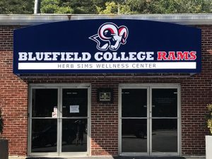 Bluefield College Awning