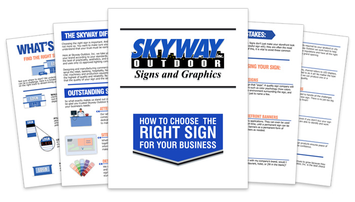 How to choose the right sign for your business